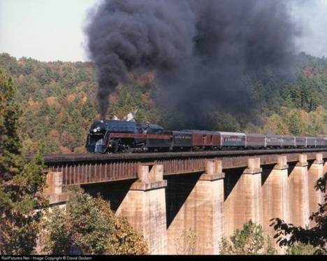 The Pocohontas - The Last Passenger Steam Train