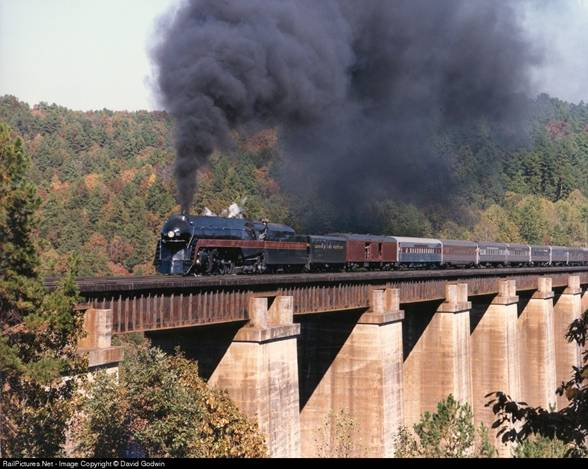 The Pocohontas - The Last Passenger Steam Train