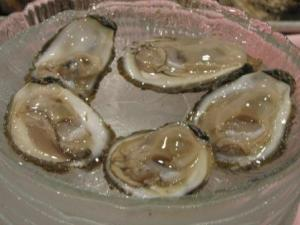 Chesapeake Bay Oysters on the Halfshell