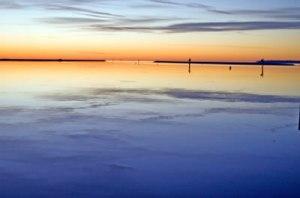 Chesapeake Bay Sunrise - Winter