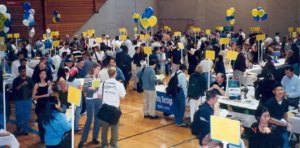 Job Fairs Have Become Crowded