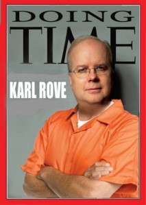 Orange Jupsuit Awardee - Karl Rove