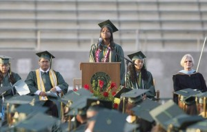 Khadijah Willaims at Graduation