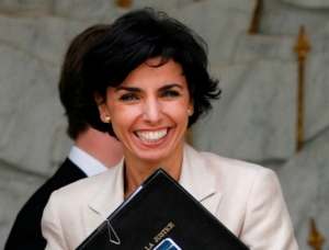 French Minister of Justice, Rachida Dati