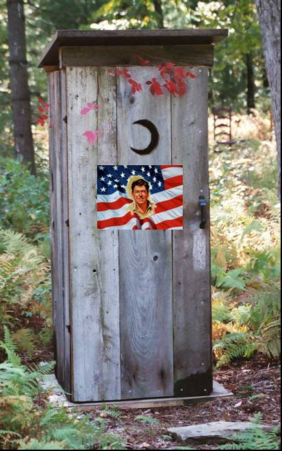 Raygun Memorial Outhouse
