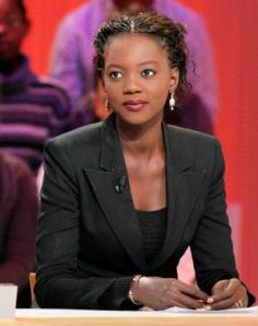 French Secretary of State for Sports, Rama Yade