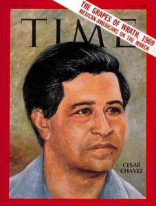 Cesar Chavez i 1969 Led Farm Workers Movement