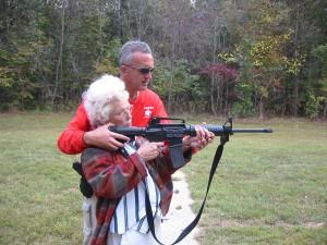 Granny got her gun