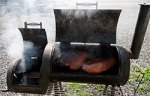 The Charcoal Smoke makes thing flavorful - but is bad for the atmosphere