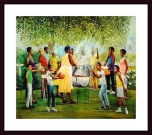Family Reunion Print by Laverne Ross