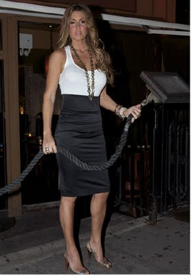 Rachel Uchitel, being reported as Tiger's woman on the side...