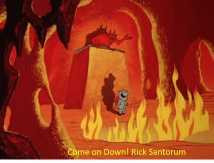 Santorum hell